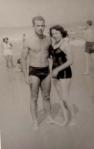 Lygia e Paulo Ghiraldelli no Rio, em Lua de Mel, 1953