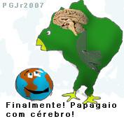 Papagaio comcérebro