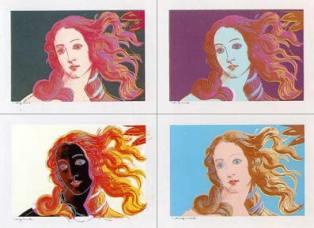 Warhol e a Madona deBotticelli