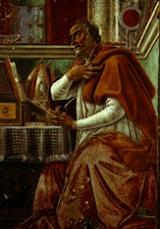 Santo Agostinho, por Botticelli(1480)