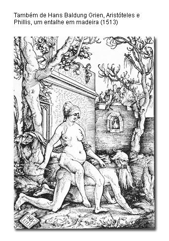 Aristóteles e Phyllis, na visão medieval