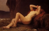 Lefebvre's 1876 Mary Magdalene In The Cave