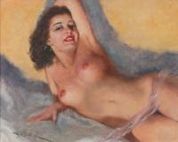 Pal Fried (1893-1976) Cabelos Negros (1940)