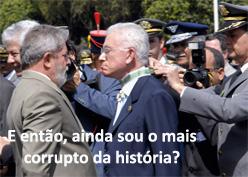 Mangabeira e seu patrão, Lula