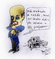 Serra odeia professor?